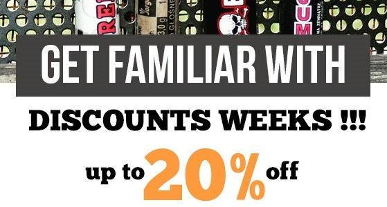 Discounts weeks 2017