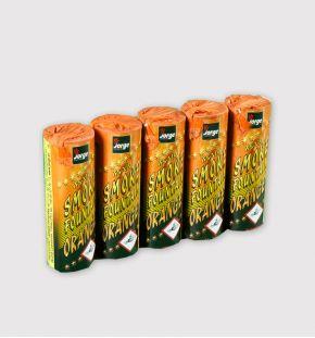 Candelotto fumogeno arancione