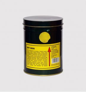 écran de fumé jaune
