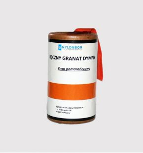 hand smoke granade RDG-1 orange