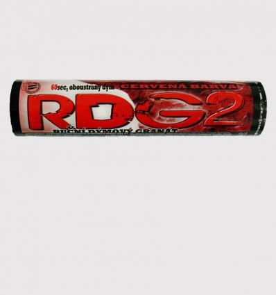 Red hand smoke granade RDG-2