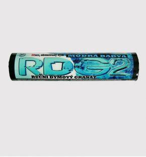 Blue hand smoke granade RDG-2
