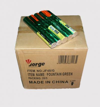 Green flare JF 48/G Carton